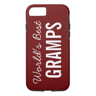 Cranberry World's Best Gramps Custom iPhone 7 Case