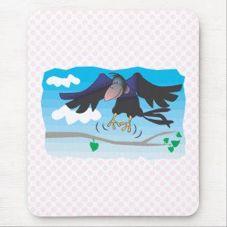 Crancie Crow Mouse Pad