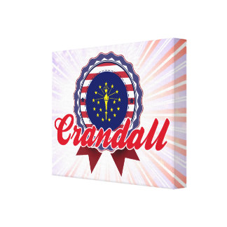 Crandall, IN Gallery Wrap Canvas
