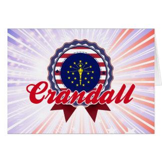 Crandall, IN Greeting Card