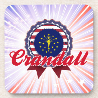 Crandall, IN Beverage Coasters