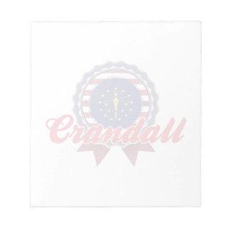 Crandall, IN Memo Note Pad