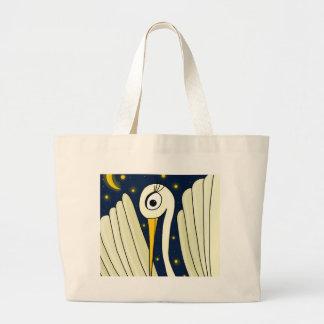 Crane 2 large tote bag