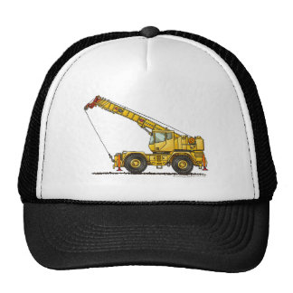Crane All Terrain Hydraulic Construction Hats