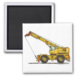 Crane All Terrain Hydraulic Construction Magnets