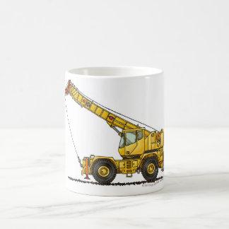 Crane All Terrain Hydraulic Construction Mugs