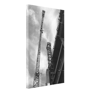 Crane and Counterweight Gallery Wrapped Canvas