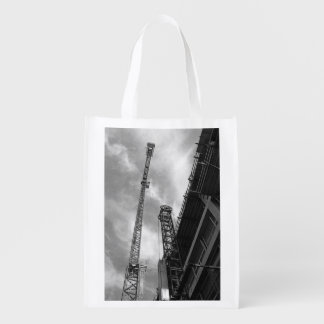 Crane and Counterweight Grocery Bag