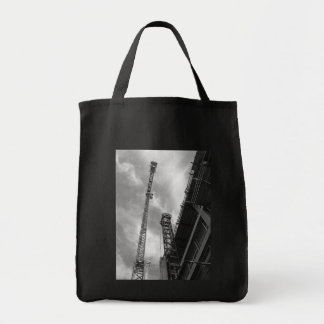 Crane and Counterweight Grocery Tote Bag
