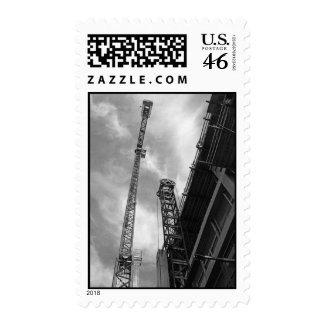 Crane and Counterweight – Medium stamp