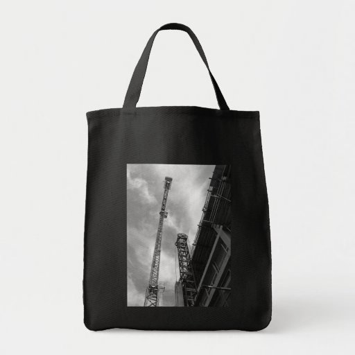 Crane and Counterweight Tote Bag