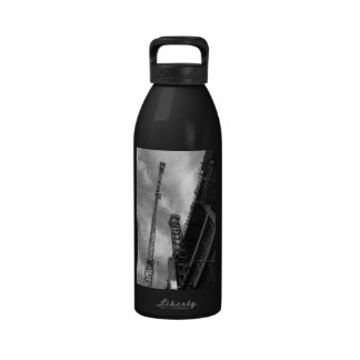 Crane and Counterweight Water Bottles