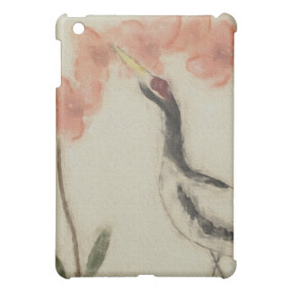 Crane and Orchid iPad Case
