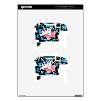 Crane Art Xbox 360 Controller Decal