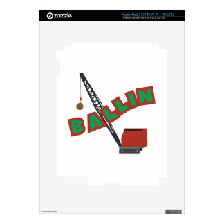 Crane Ballin Decals For iPad 3