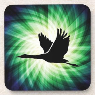 Crane; Bird Flying; Cool Coaster