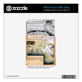 Crane by Ustad Mansur Skins For iPod Touch 4G