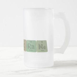 Crane-C-Ra-Ne-Carbon-Radium-Neon.png Frosted Glass Beer Mug