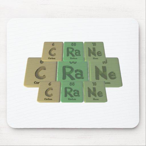 Crane-C-Ra-Ne-Carbon-Radium-Neon.png Alfombrilla De Ratón