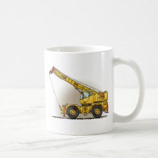 Crane Construction Equipment Coffee Mug