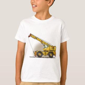 Crane Construction Equipment Kids T-Shirt