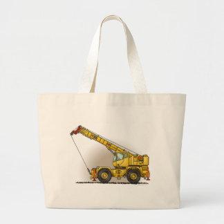 Crane Construction Equipment Tote Bag