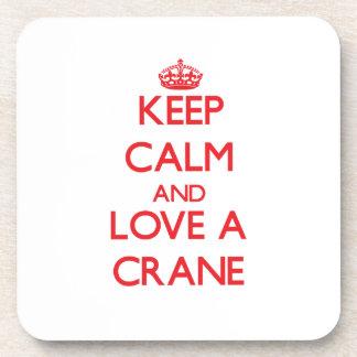 Crane Drink Coaster