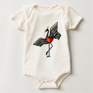 Crane Dance Baby Bodysuit