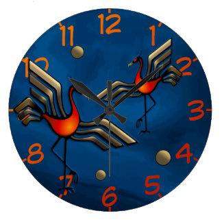 Crane Dance Clock
