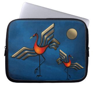Crane Dance Computer Sleeve