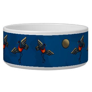 Crane Dance Dog Water Bowls