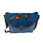 Crane Dance Messenger Bag