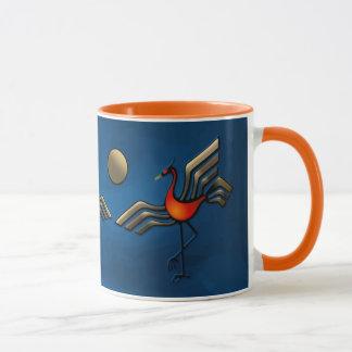 Crane Dance Mug