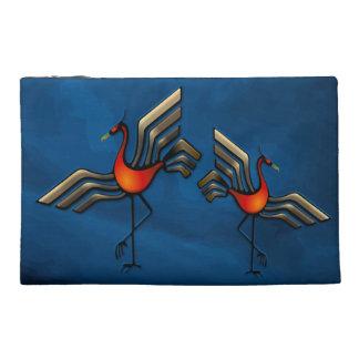 Crane Dance Travel Accessory Bags