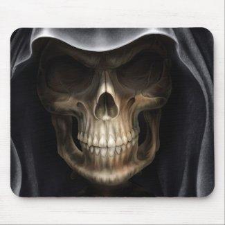 Crâne fantôme mousepad