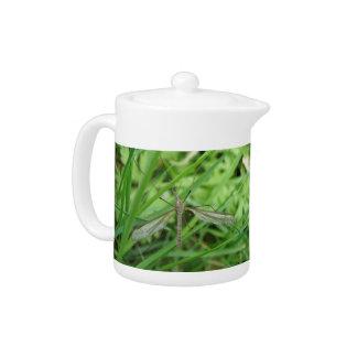 Crane Fly Teapot