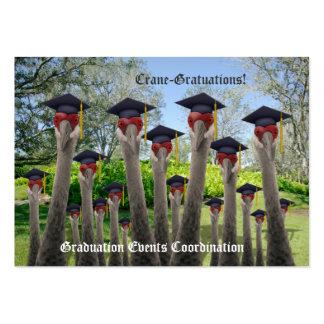 Crane-Gratuations Large Business Card