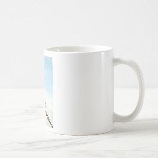 Crane Hook Classic White Coffee Mug