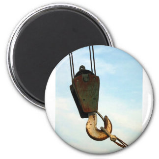 Crane Hook Fridge Magnet