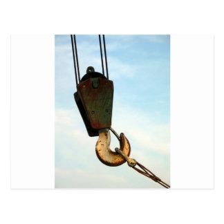 Crane Hook Postcard
