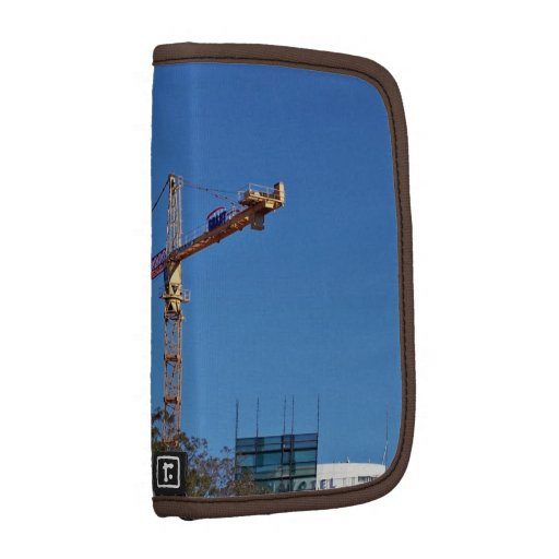 Crane in construction planners