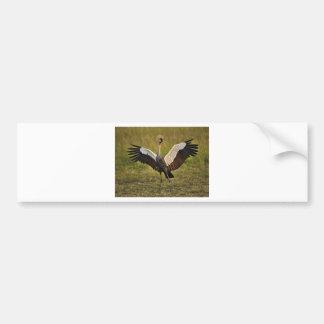 crane.jpg bumper sticker