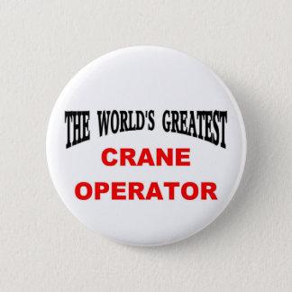Crane operator button