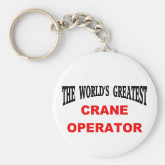 Crane operator keychain