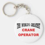 Crane operator keychains