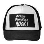 Crane Operators Rock! Hat