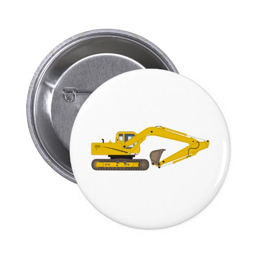Crane Pinback Button