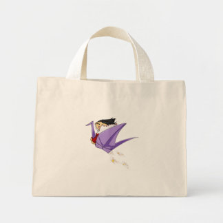 Crane Rider Tote Bag