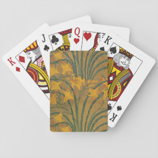 Crane's Art Nouveau Lilies Playing Cards