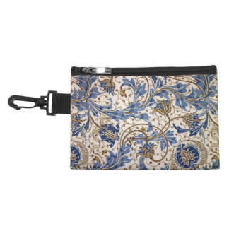 Crane's Pomegranate and Teazle in Blue Accessory Bags